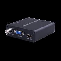 Conversor 4 EM 1 AHD para HDMI/VGA/BNC