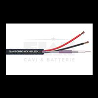 Cabo Micro-Coaxial HD C/Alim. 2X0.75 100 Metros ELAN