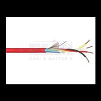 034801R - Cable contra incendios CPR 4x0.80 TW+SH 100M ELAN