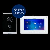 Kit Vídeo Porteiro  IP Villa DHI-KTW01