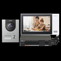 Kit Vídeo Porteiro IP DHI-KTP01(S) IP55 DAHUA