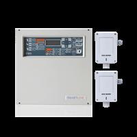Kit Central de Gás 4 zonas e 2 Detetores INIM/GAS SENSE