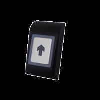 Botão Saída em ABS Preto