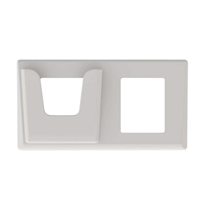 DINFP2HS-ES Espelho Duplo c/suporte XPR