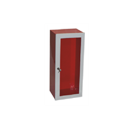 Caixa Metálica p/ Extintor Porta Vidro
