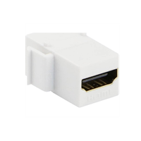 Excel HDMI Keystone Adaptor White