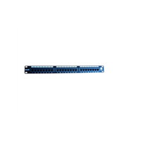 Excel CAT6 24 Port 1U Patch Panel Preto