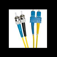 EXCEL OS2 10M ST-SC DUPLEX P/CABLE 9/125