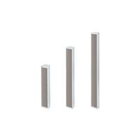 Coluna de 20W ajustável cinza com 4 altifalantes