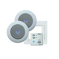 Kit som Bluetooth 220V com comando e 2 colunas