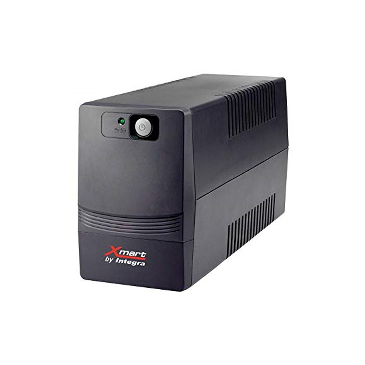 1100VA 4xSchuko LCD USB RJ45