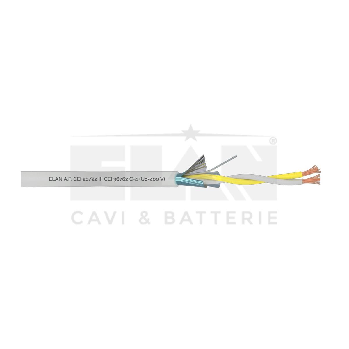 032101 -Cabo PORTEIRO PVC 2x1.0 100 Metros ELAN