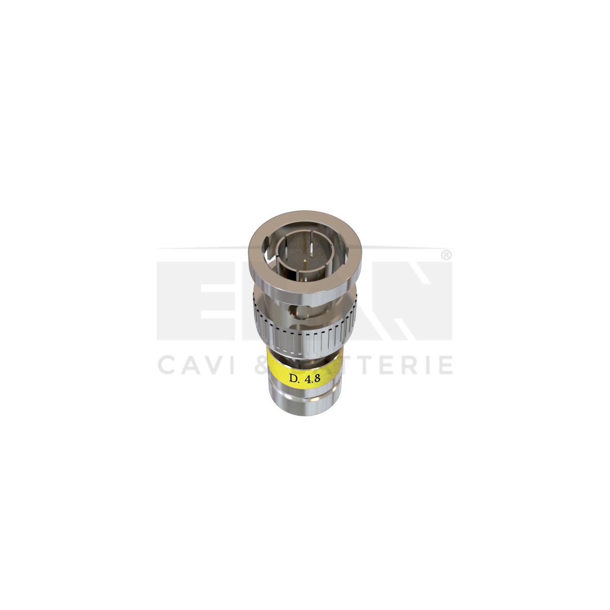Conetor de compressão RG59 Nikelato