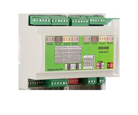RB0408 Placa de Relé p/ controlo de elevadores XPR