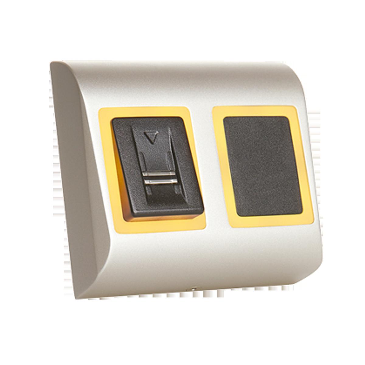 Leitor biométrico Swipe + leitor de Prox.