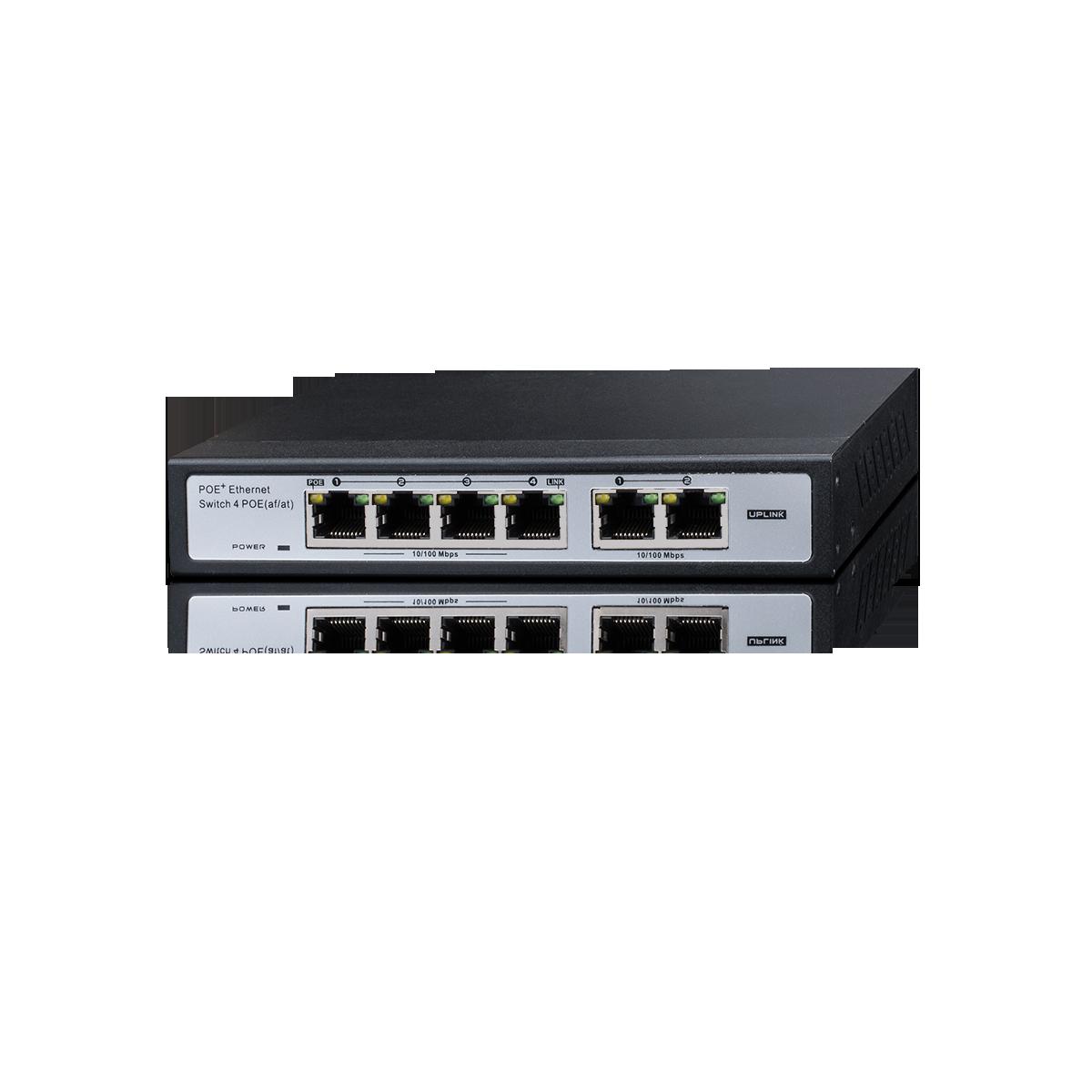 Switch 10/100 4+2  PROVISION