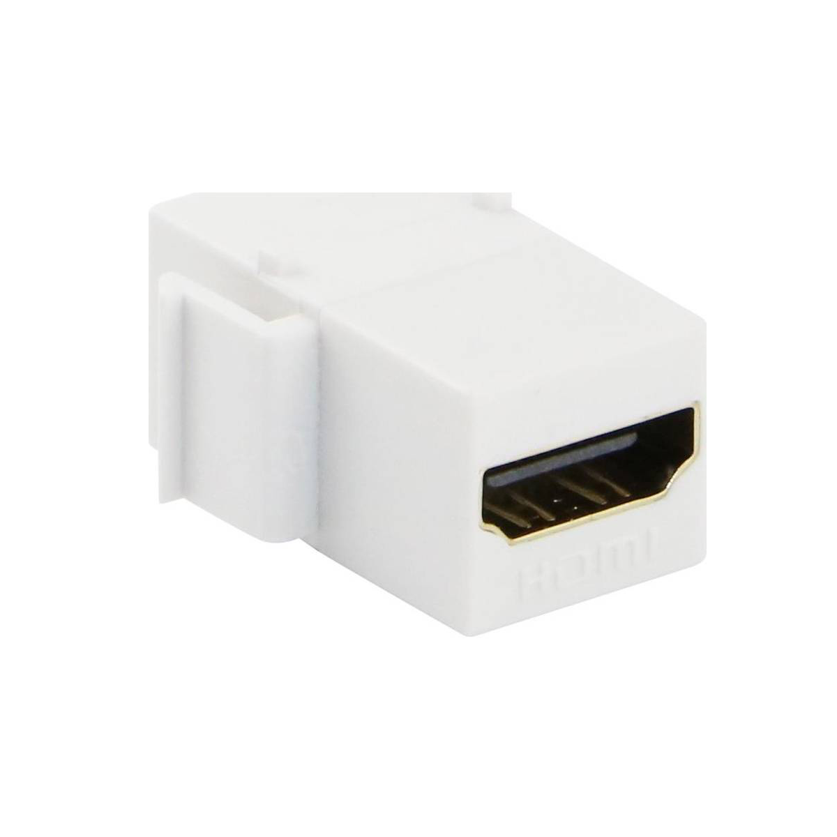 Excel HDMI Keystone Adaptor White