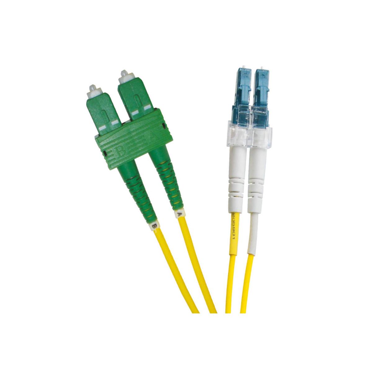 EXCEL OS2 3M LC-SCAPC DUPLEX P/LEAD 9/125