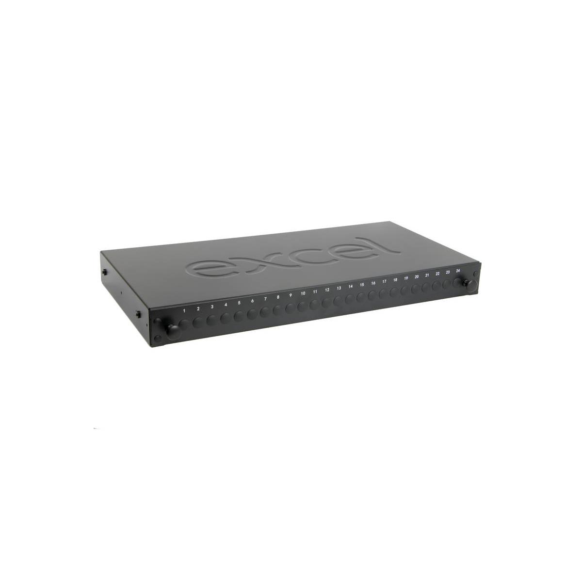 Painel vazio fibra EXCEL 24 WAY ST/FC SX