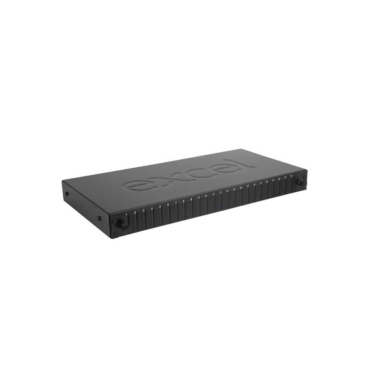 Painel vazio fibra EXCEL 24 WAY SCDX/LCQD