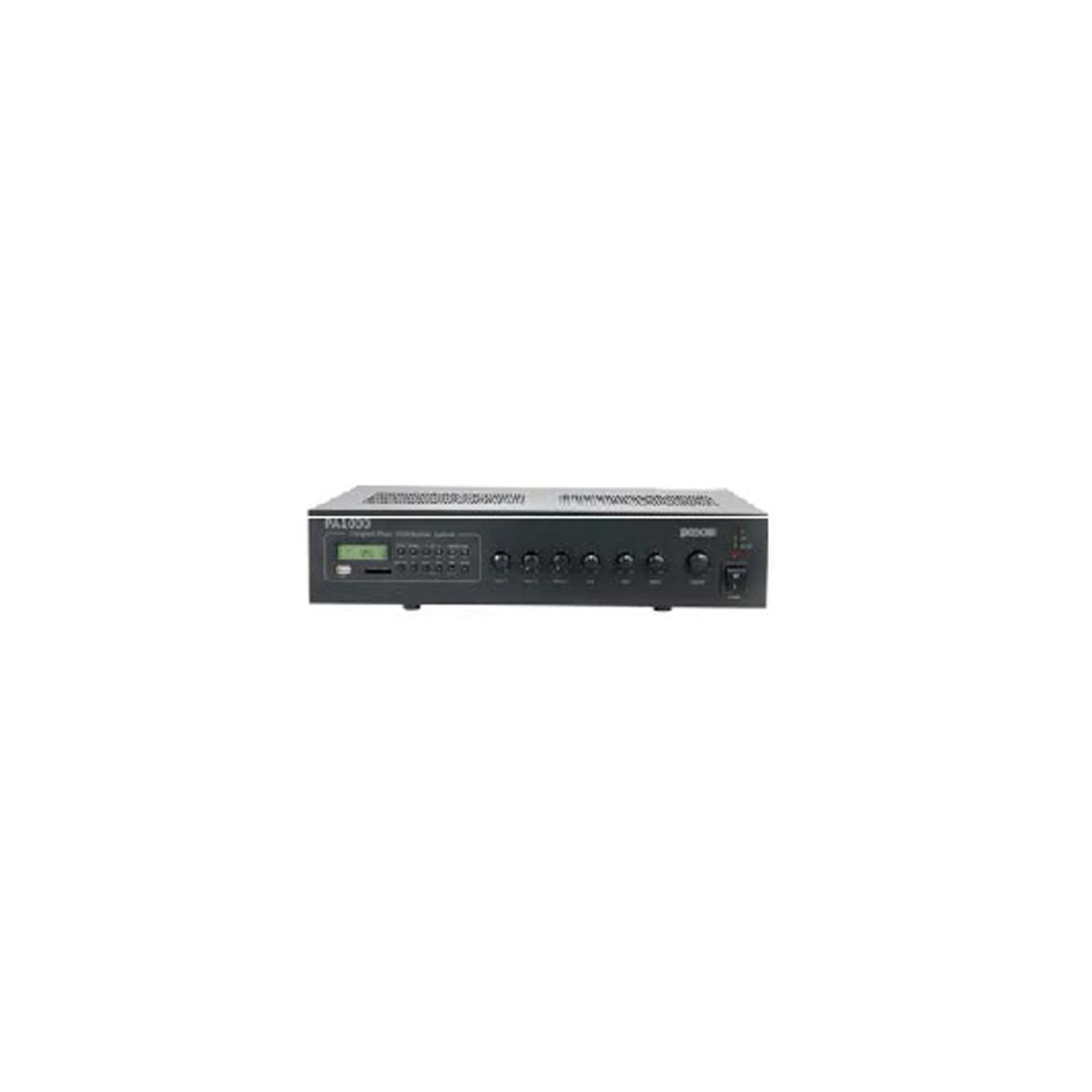 Sistema de difusão sonora com 120W