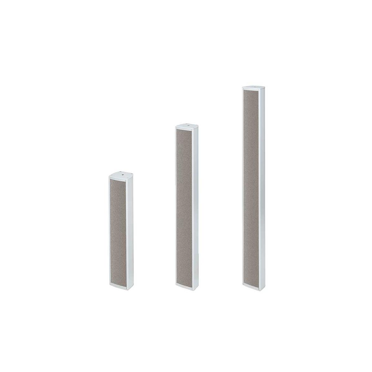 Coluna de 30W ajustável cinza com 4 altifalantes